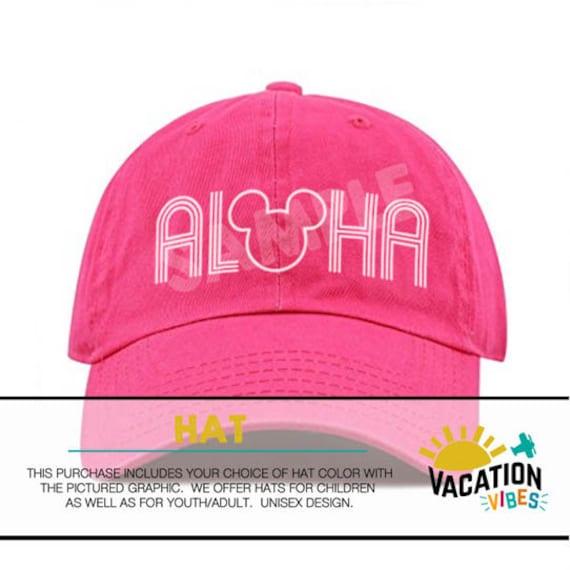 0dc1219003c Disney Aloha Hat Toddler Boy or Girl Mickey Aloha Kids