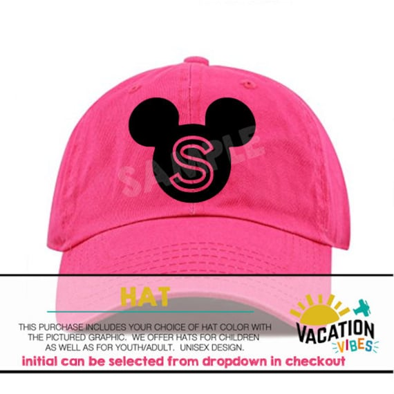Mickey Disney Hat Kids Personalized Toddler Boy or Girl  715221f23ba