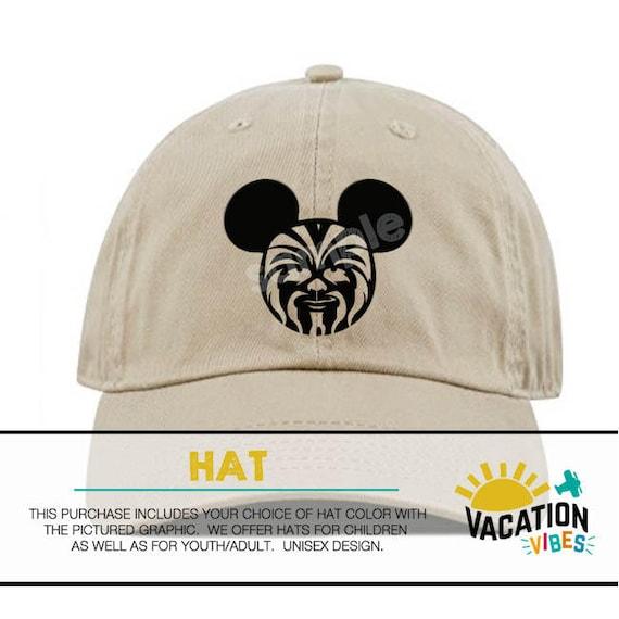 7da82411e4f Mickey star wars Disney Hat Toddler Boy or Girl Kids