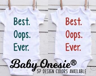 bd23edc66 Funny Baby Onesie - Gerber Organic Onesie® - Best. Oops. Ever.