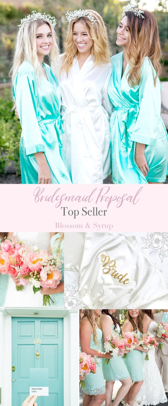 Set of 10  Bridesmaid Robes  Bridal robes  Personalized Robes   ab09744e67ff