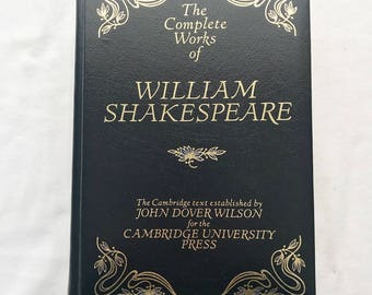 the complete works of shakespeare vintage hardcover book - William Shakespeare Lebenslauf