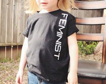 Feminist Toddler Boy Girl T-Shirt Boys Tee Feminism Toddler Girls Shirt Kids Feminist TShirt Protest Tee Feminist Shirts Kids Girl Power Tee