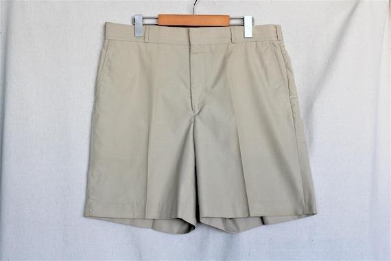 Mens Golf Shorts/Vintage Bermuda Shorts/Mens Board