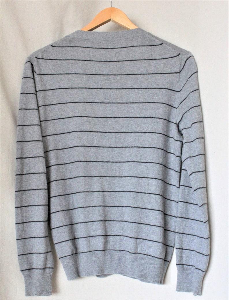 Striped Wool Sweater VintageCashmere Sweater MenJ Crew Boyfriend Cardigan