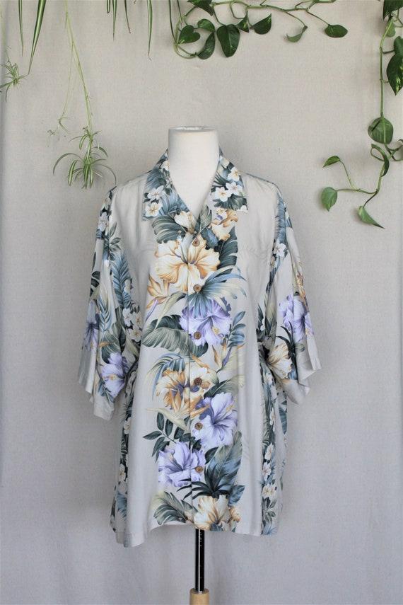 Tommy Bahama Shirt/Mens Hawaiian Shirts/Aloha Shi… - image 3