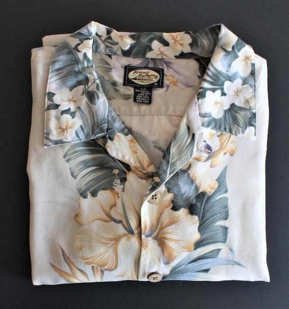 Tommy Bahama Shirt/Mens Hawaiian Shirts/Aloha Shi… - image 9