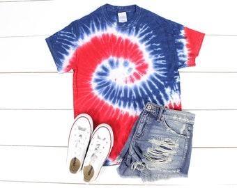 Patriotic shirt America Tie dye shirt Tie dye shirt Tyedye shirt Tye Dye shirt mens Tye Dye for women Tye dye adult Tye dye kids