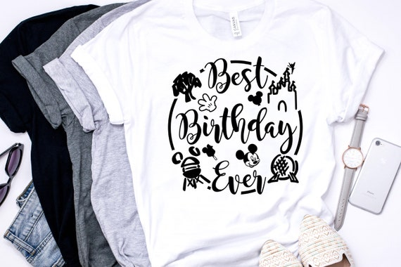 Disney Best Birthday Ever Shirt Adult