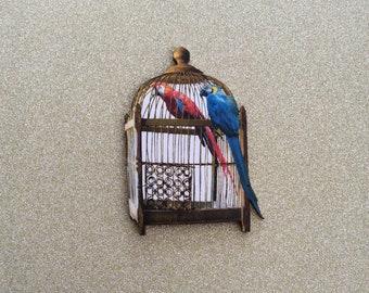 Needle Minder Birdcage