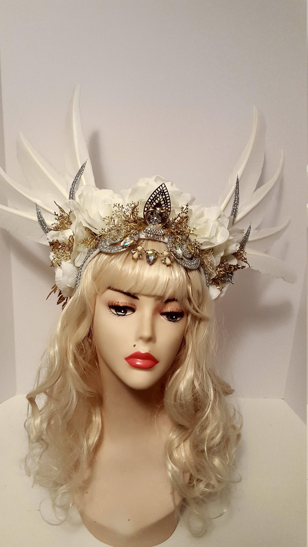 White Goddess headpiece 4ea4e91d785