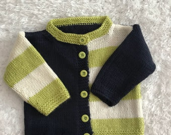 Hand knitted cardigan brand new