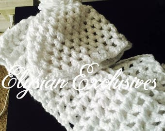 Crochet Handmade Hat and Scarf