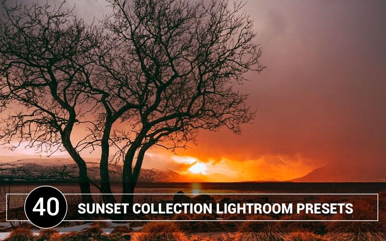 Sunset lightroom presets Warm lightroom presets moody presets matte presets  Landscape Presets film preset travel Presets blogger presets