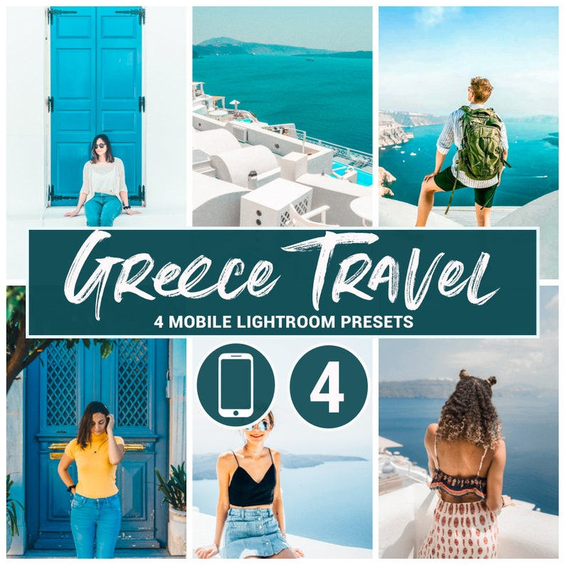 Mobile Ligfhtroom presets Greece lightroom Greece mobile Travel presets  Instagram presets Blogger presets Mobile presets Lightroom mobile