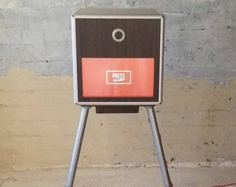 Vintage Style Open Air Photo Booth