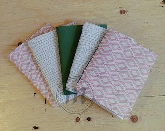 Notebook cover soft binding ∞ ∞ hand Cahier ∞ design ∞ ∞ book Journal