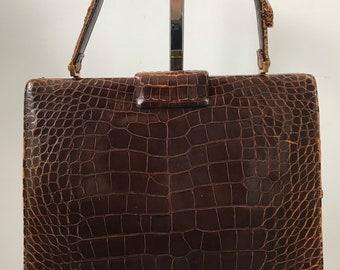 7aa02526f0f3 Items similar to Vintage 1960s Lucille De Paris Handbag Purse ...