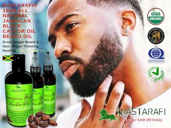 Rastarafi Premium Beard Oil 8 Oz Fast Beard Growth Etsy