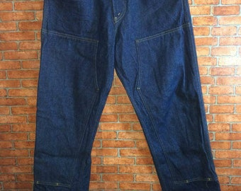Wild Ass Us-Made Double Front Blue Denim Logger Pants Hip Hop Swag