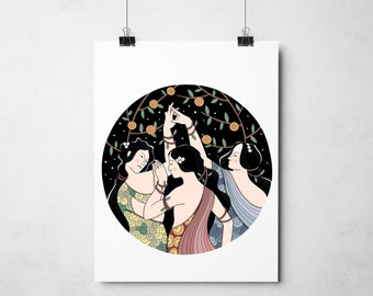 Poster Botticelli The Three Graces