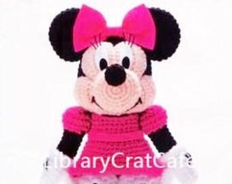 Crochet minnie mouse   Etsy