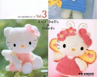 Ebook etsy hello kitty crochet pattern crochet pattern ebook hello kitty amigurumi ebook japanese craft ebook pdf instant download fandeluxe Images