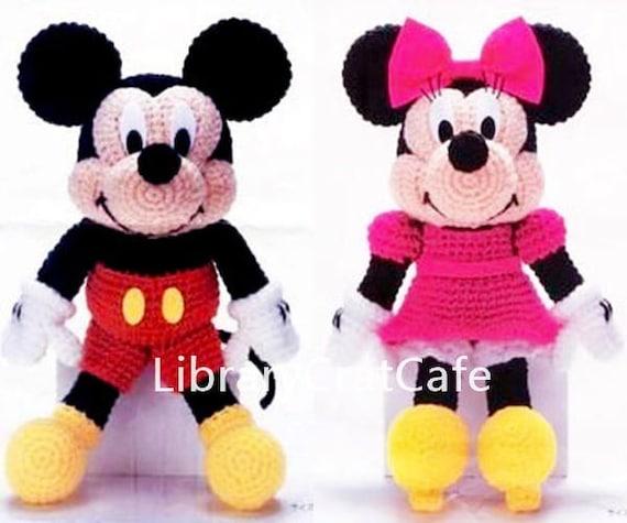 Mickey Mouse Minnie Mouse Amigurumi Crochet Pattern 14 Etsy