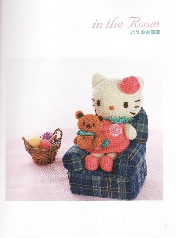 Hello Kitty Crochet Pattern Crochet Pattern eBook Hello | Etsy
