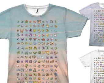 8082fa19 Original 151 Pokemon T-Shirt | Unisex Shirt