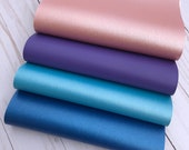 Faux leather sheets. Royal blue, purple, rose gold, blue.Leather sheets. Faux leather bow supplies. Leather sheets supplies. S04 photo