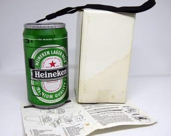 Heineken beer bank photo camera, 35mm camera,souvenir camera,jar camera,gift camera,interesting camera,camera exclusive,can of beer