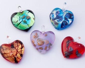 Murano Glass Heart