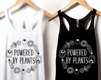 Live Life On The Veg Womens Vest Tank Top vegan veggie gift