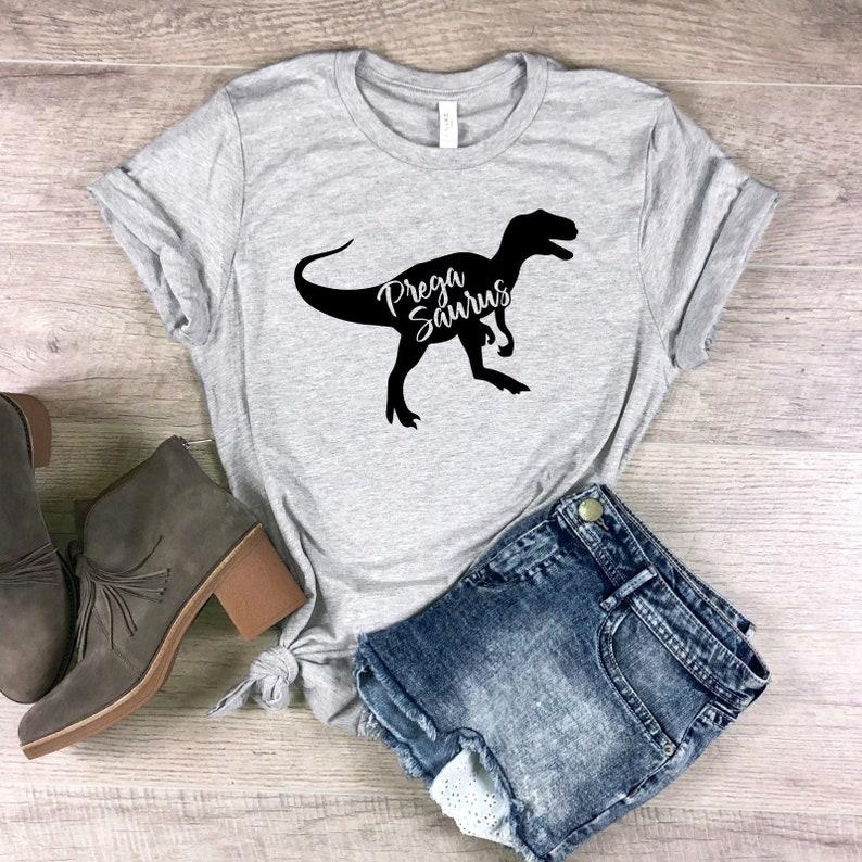 f097e3811 Pregasaurus Shirt Pregnancy Announcement Shirt Gifts New Mom | Etsy