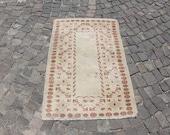 anatolian rug, turkish rug, area rug, 2.6 x 3.9 ft. free shipping nomadic rug, anatolian rug, decorative livingroom rug, wool rug, MB2273