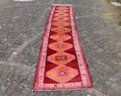 vintage hallway runner rug, bohemian runner rug, 2.7 x 12.9 ft. free shipping aztec runner rug, bohemian runner rug, kitchen rug, MB2216