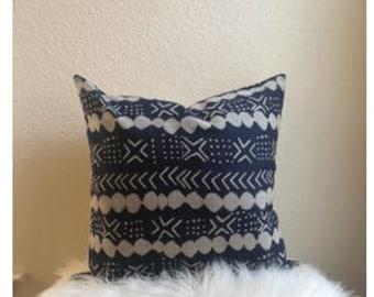 20x20 Deep Indigo Pillow Cover