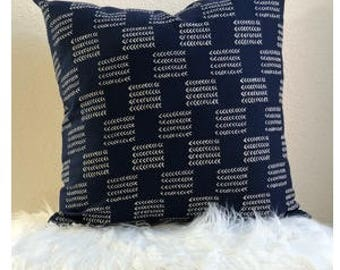 18x18 Deep Indigo Pillow Cover