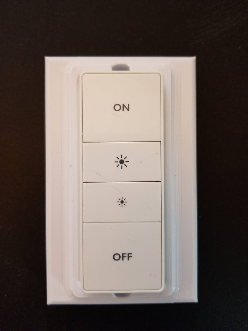 Fremragende Philips Hue stealth Decora style dimmer switch magnetic | Etsy WU81