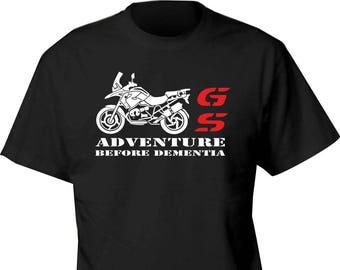 BMW GS t shirt ADVENTURE