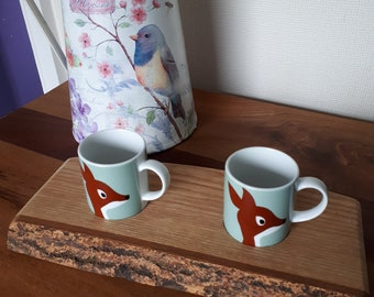 Coffee  cups and platter