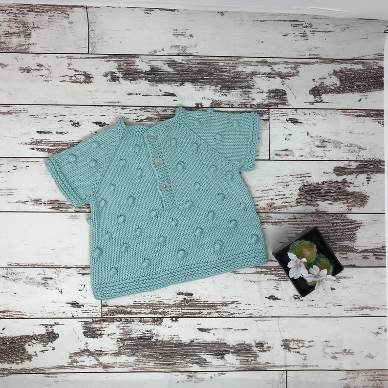 Knitted T-shirt With Bubbles