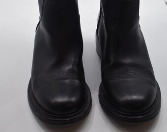 2c582696b3e9 Chanel Leather Knee-High Boots Size IT 38.5 / US 8.5