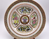 Chinese Hand Painted Plate Kangxi Qianlong, Painted by a Master 2 MUST SEE