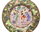 Antique Chinese Qing Superb Unusual Famille Verte Porcelain Plates 3