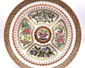 Chinese Hand Painted Plate Kangxi Qianlong, Painted by a Master 1 MUST SEE