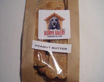 BUDDYS BAKERY Peanut Butter bones dog treats
