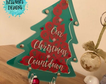 Christmas Countdown - Advent Tree - Advent Calendar