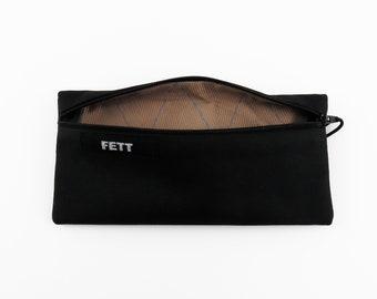 zipper purse for pencils or phone